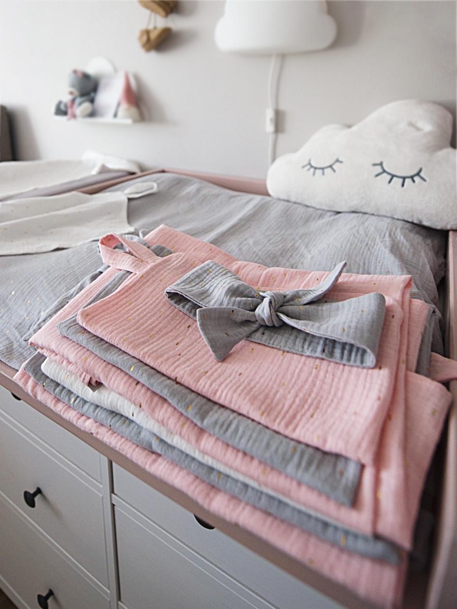 kliknutít zobrazíte maximální velikost obrázku Nyári Pinkie Muslin White takaró