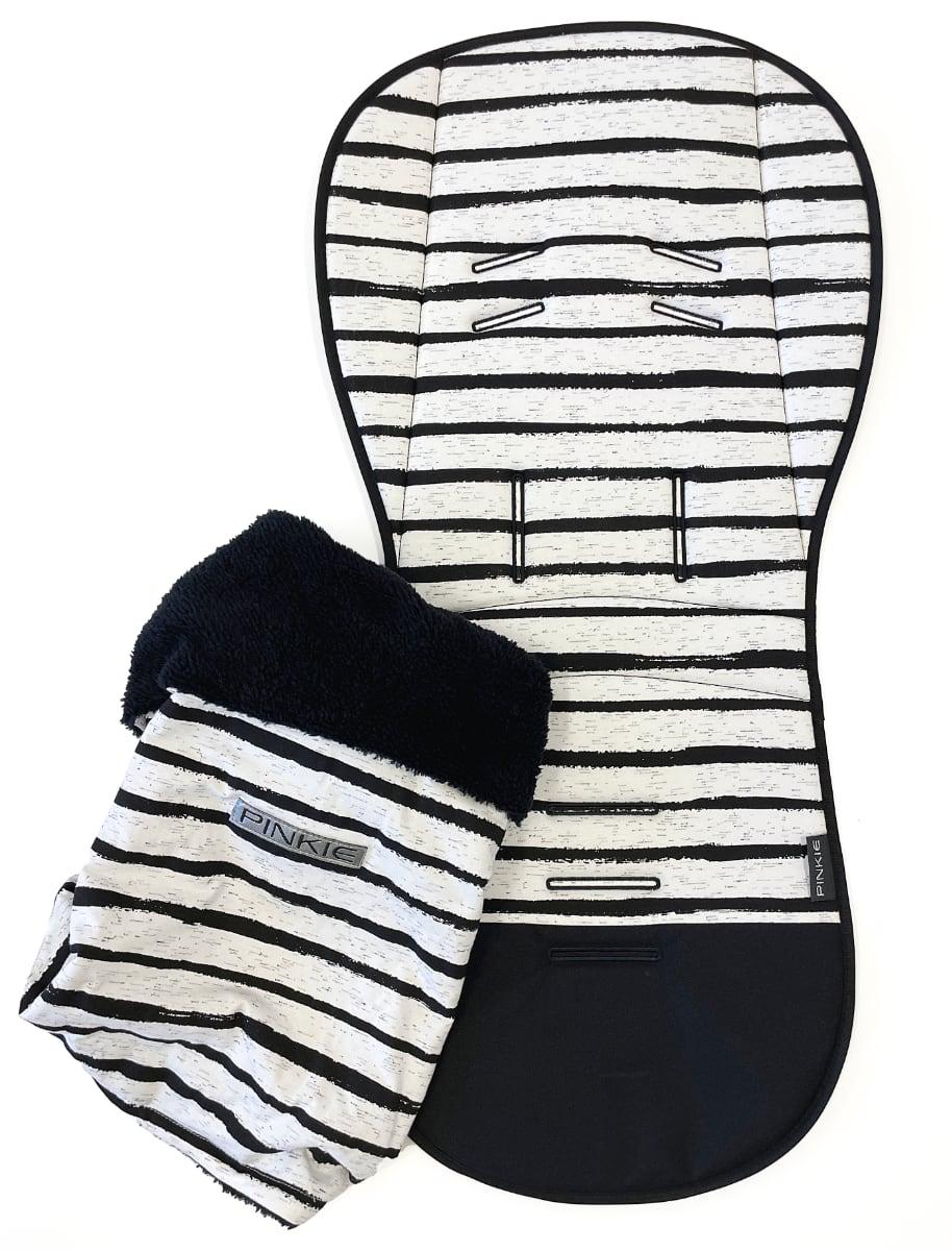 kliknutít zobrazíte maximální velikost obrázku Hosszított Pinkie Stripe White betét