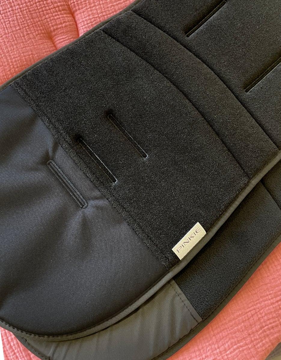 kliknutít zobrazíte maximální velikost obrázku Hosszított,nyári Black betét ezüst szálakkal - froté