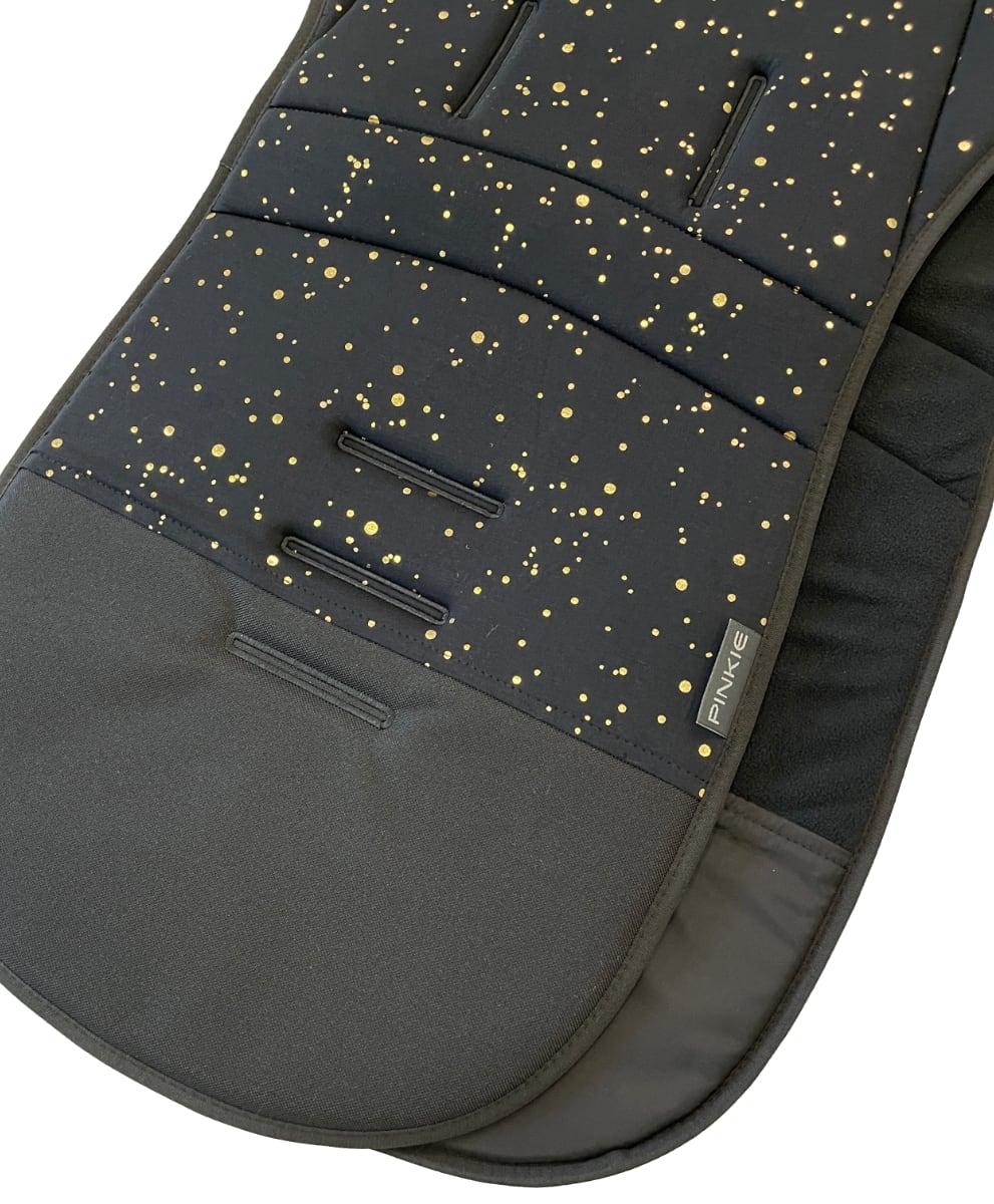 kliknutít zobrazíte maximální velikost obrázku Hosszított Shine Gold Black betét