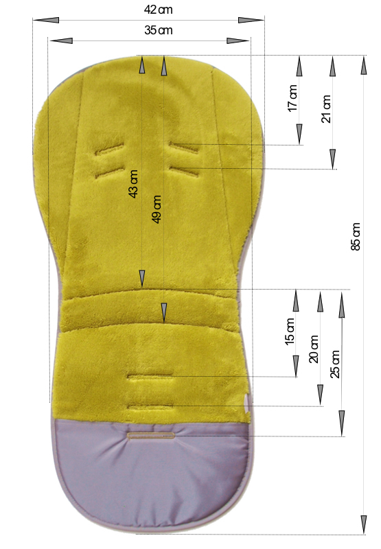 kliknutít zobrazíte maximální velikost obrázku Hosszított Shine Gold Grey betét